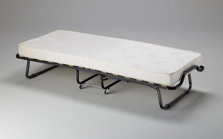 Skládací postel luxor 200x80cm smetanová