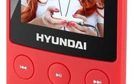 MP3 přehrávač Hyundai MPC 501 GB4 FM R červený