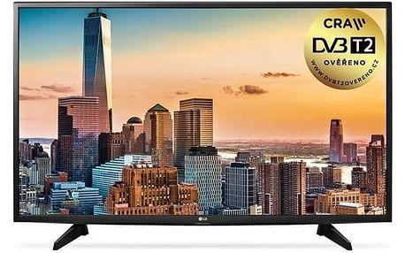 Televize LG 49LJ515V černá + Doprava zdarma