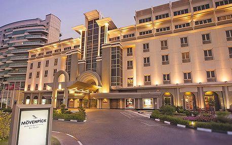 Hotel Mövenpick Hotel & Apartments Bur Dubai, Dubaj, Spojené arabské emiráty, letecky, snídaně v ceně