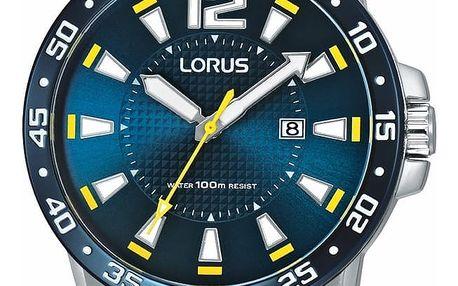 Lorus RH935FX9 + pojištění hodinek, doprava ZDARMA, záruka 3 roky