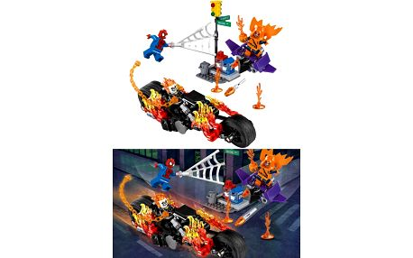 SY841 Stavebnice Spiderman: Ghost Rider vstupuje do týmu - 248 ks