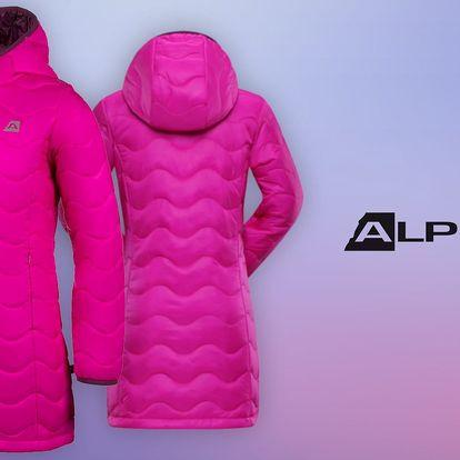 Dívčí zateplený kabát Alpine Pro