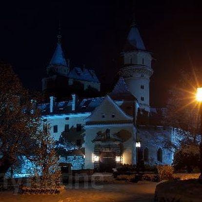 Pobyt v lázeňském městečku Bojnice u zámku v 3* hotelu s polopenzí i wellness