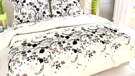 Kvalitex Bavlna povlečení Estela, 240 x 200 cm, 2 ks 70 x 90 cm