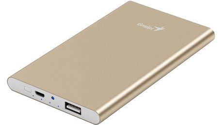 Genius powerbank ECO-u540, zlatá - 39800016102