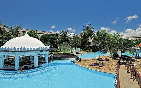 Keňa, Diani Beach, letecky na 11 dní polopenze