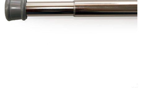 Gardinia Rozpěrná tyč nikl stříbrná, 80 - 130 cm