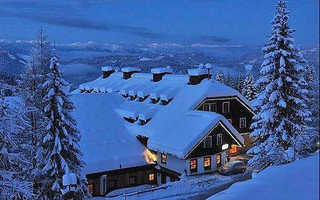 Neomezený alpský wellness pobyt ve výšce 1400m n.m. ve středisku Hermagor