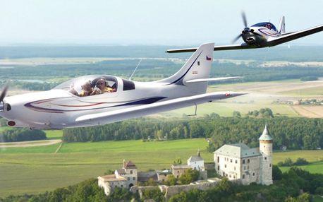 Pilotem na zkoušku ve sportovním letadle