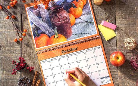 Nástěnné či stolní fotokalendáře dle výběru