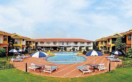 Hotel Baywatch Beach Resort, Goa, Indie, letecky, snídaně v ceně