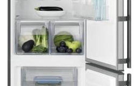 Kombinace chladničky s mrazničkou Electrolux EN3853MOX nerez + Doprava zdarma