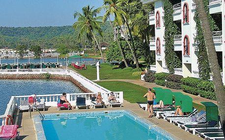 Hotel Resorte Marina Dourada, Goa, Indie, letecky, snídaně v ceně