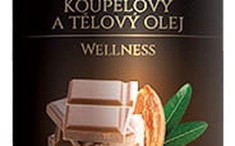 Topvet Luxusní tělový olej Čokoláda, 200 ml