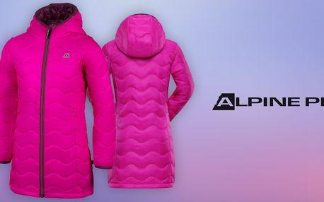 Lehký jako pírko: Zateplený dívčí kabát Alpine Pro z vodoodpudivého materiálu