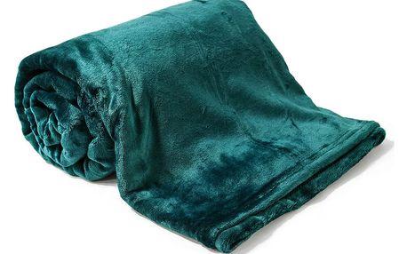 Jahu Deka Light Sleep New tmavě zelená, 150 x 200 cm