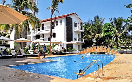 Hotel Citrus Resort, Goa, Indie, letecky, snídaně v ceně