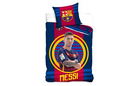 Tip Trade Povlečení FC Barcelona Messi, 140 x 200 cm, 70 x 80 cm, 140 x 200 cm, 70 x 80 cm
