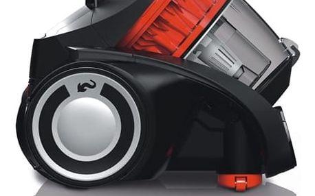 Vysavač podlahový Dirt Devil Black Label Infinity MC54 černý Turbohubice vzduchová Dirt Devil M219 plast v hodnotě 529 Kč + DOPRAVA ZDARMA