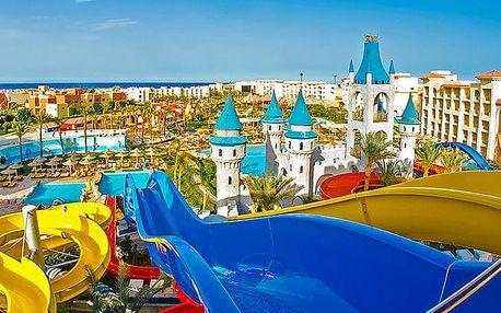 Hotel Fun City Resort & Aquapark, Hurghada, Egypt, letecky, all inclusive