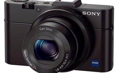 Digitální fotoaparát Sony DSC-RX100 II černý + DOPRAVA ZDARMA
