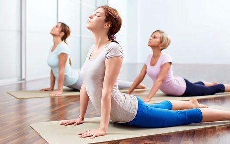 1 nebo 3 lekce jemné Jin jógy