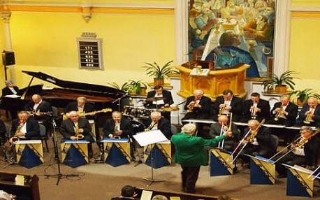 Swingový koncert v modlitebně církve evangelické, 1. 1. 2018