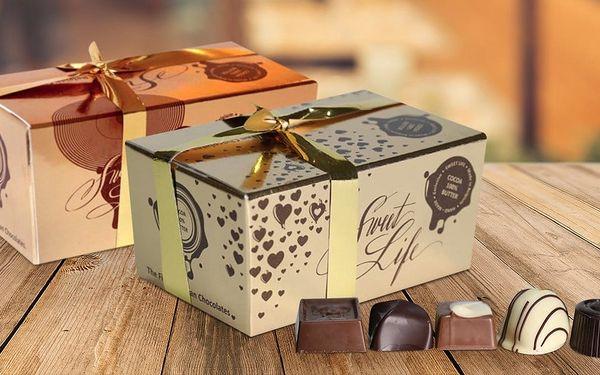 Originální belgická čokoláda a pralinky