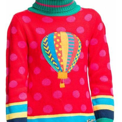 Dívčí šaty Rosalita Senoritas, červené
