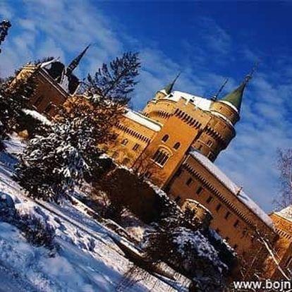 Ozdravný pobyt v Bojnicích (nejen) pro seniory - kousek od lázní a zámku