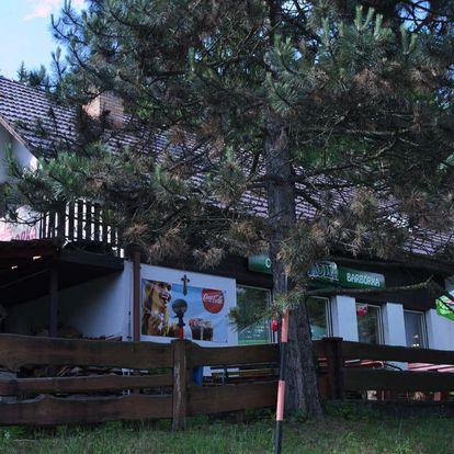 Podzim či zima na Chatě Barborka na Valašsku s polopenzí