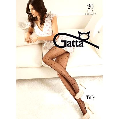 Punčochové kalhoty Gatta Tiffy nr 01 20 dendaino/odstín béžové,3-M