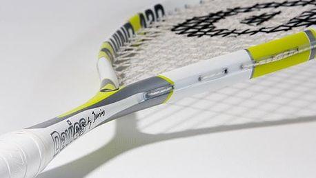 Ultralehké squashové rakety pro běžné i turnajové hráče