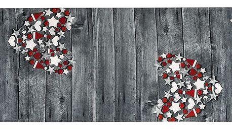 BO-MA Trading Běhoun na stůl Vánoční čas, 40 x 140 cm