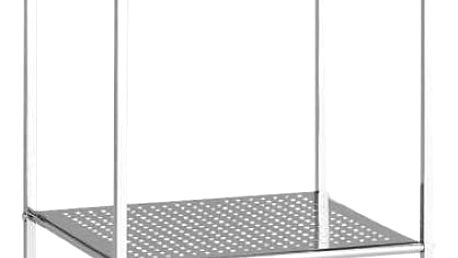 Regál do koupelny unicon/ c - 4, 38/112/30 cm