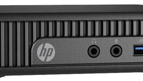 HP 260 G2 DM, černá - 2KL51EA