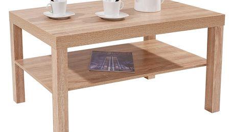Konferenční stolek light, 90/45/55 cm