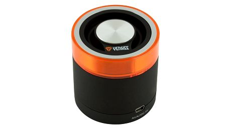 Bezdrátový reproduktor YENKEE EGGO BT, YSP 3001, černá/oranžová