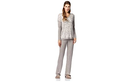 Dámské pyžamo 10-4833 - Vamp Barva: beige, Velikost: XL
