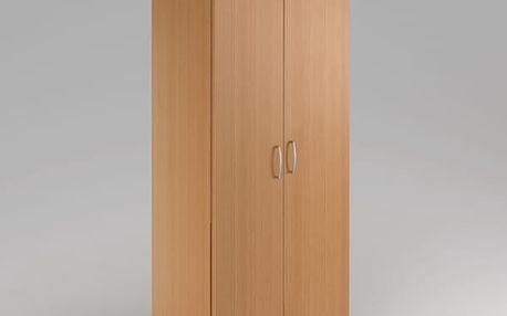 Vysoká šatní skříň Visio 80 x 38,5 x 183,5 cm