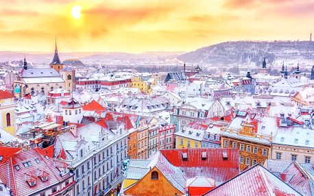 Romantika v centru Prahy s bohatou snídaní