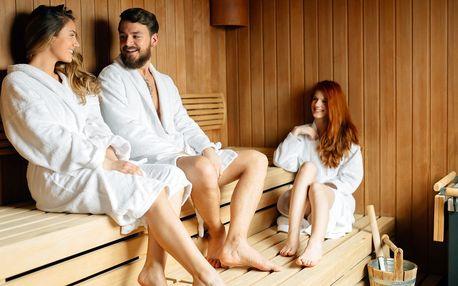Hodina a půl ve finské sauně pro 2–6 osob