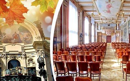 Nejznámější melodie Mozarta a Vivaldiho v Grégrově sálu Obecního domu v pátek 10. listopadu 2017 v 18. hodin. Do povznesené nálady vás dostane Dvořák Symphony Orchestra Prague v komorním obsazení s cembalem, sólovým zpěvem a sólovými houslemi.