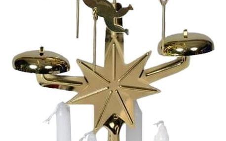 HTH Andělské zvonění v. 30 cm, zlatá