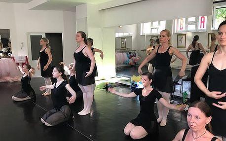 Základy baletu - klasického tance pro začátečníky, balíček 3 lekcí (3 x 90 minut)