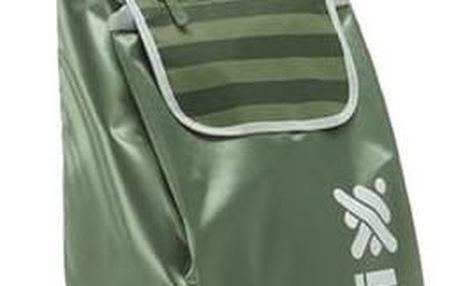 Flexi Nákupní taška na kolečkách zelená