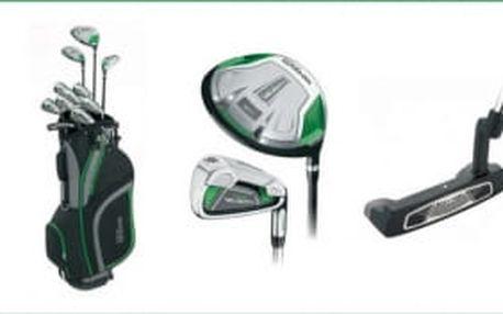 Kompletní pánský golfový set Wilson Tour Velocity - driver, dřevo, hybrid, sada 7 želez (5-SW), putter a bag, vše za 5.550 Kč + VARIANTA S VOZÍKEM