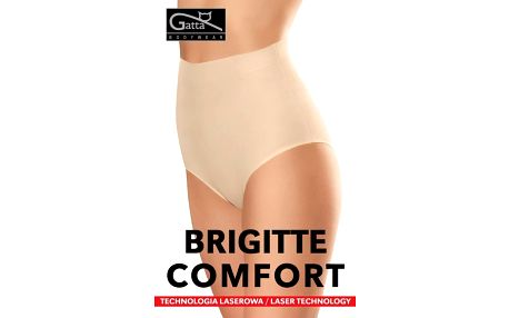 Kalhotky bezešvé Gatta Brigitte Comfort 41581bílá,L