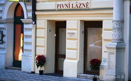 Pivní lázně v historickém centru Prahy - 1 osoba